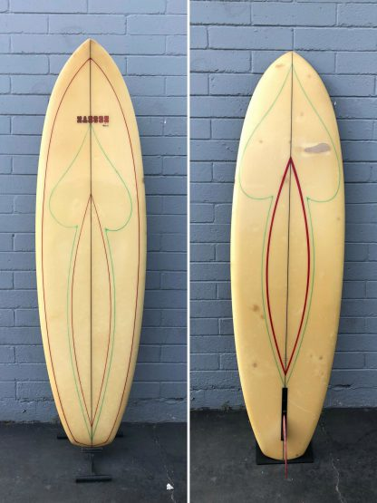 "6'9"" Hansen Sole Rider Single Fin"